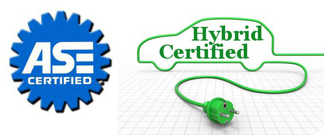 ASE and hybrid certified