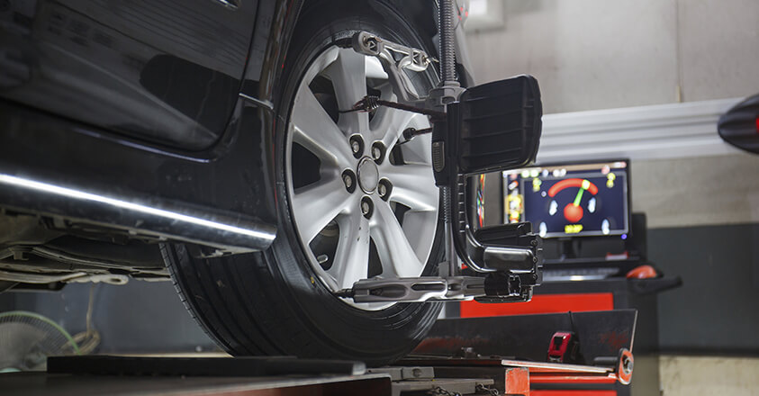 Wheel alignment in Clearwater